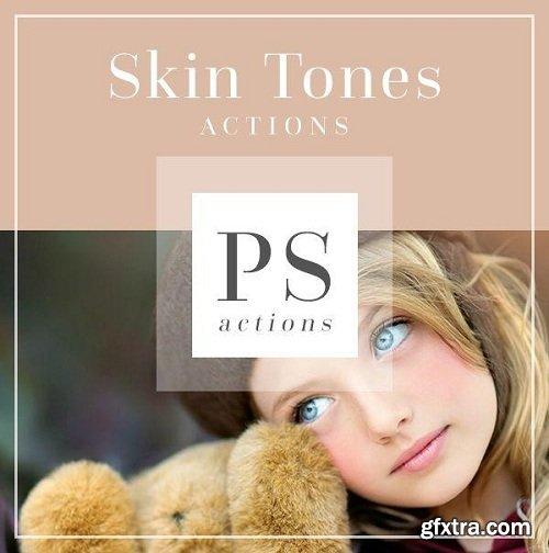 Bellevue-Avenue - Perfect Skin Tones Photoshop Actions
