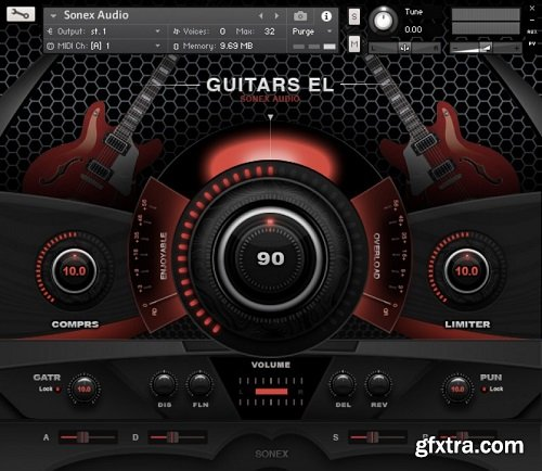 Sonex Audio Electric Guitars KONTAKT-AwZ