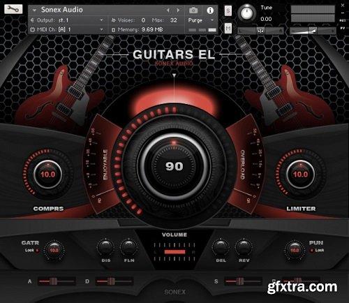 Sonex Audio Electric Guitars KONTAKT-AwZ