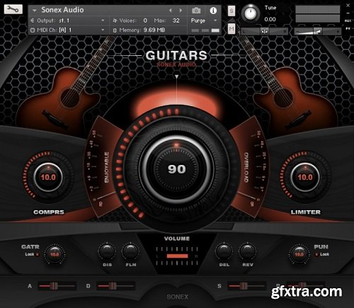 Sonex Audio Acoustic Guitars KONTAKT-AwZ