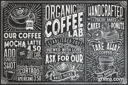 CM - 15 Fonts Coffee Lab Collection 3753332