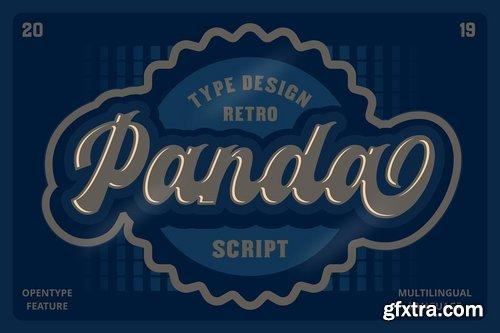 CM - Panda Script Font 3755503