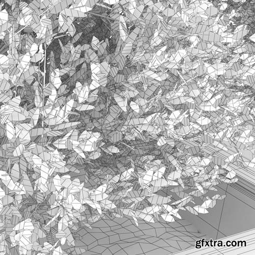 Cgtrader - Green bush 3D model