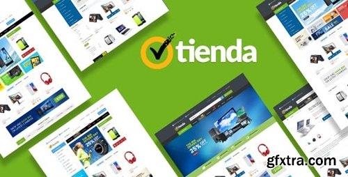ThemeForest - Tienda v1.0 - Responsive Technology Prestashop Theme 23717237