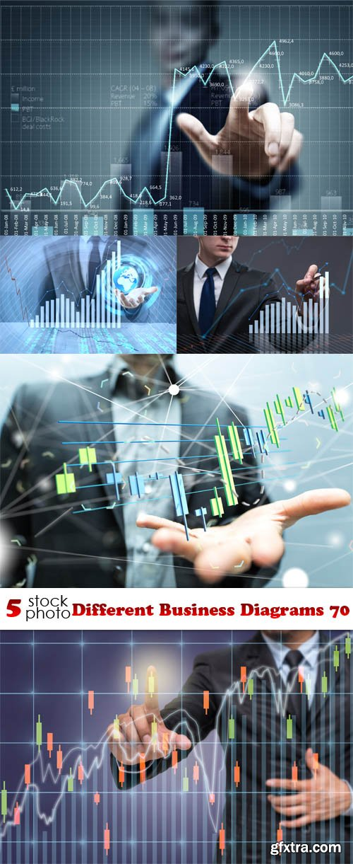 Photos - Different Business Diagrams 70
