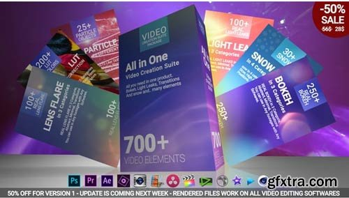 Videohive - 700 Video Creation Suite V2 - 22974586