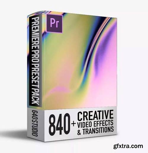 840 Transitions Pack For Premiere Pro CC V.3.1.2