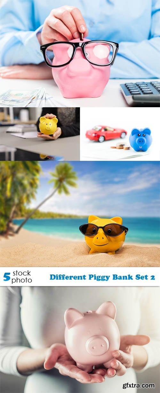 Photos - Different Piggy Bank Set 2