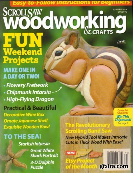 ScrollSaw Woodworking & Crafts - Issue 75 Summer 2019