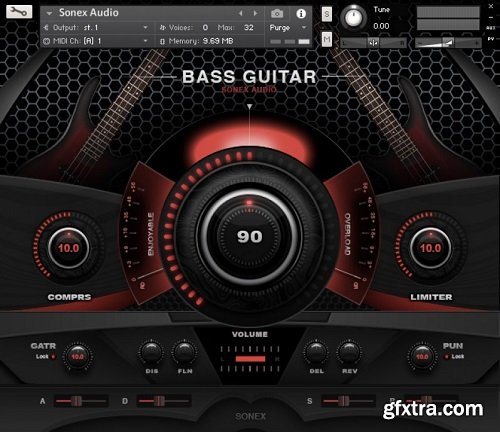 Sonex Audio Bass Legends KONTAKT-AwZ
