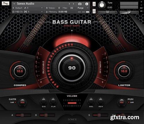 Sonex Audio Bass Legends KONTAKT-AwZ