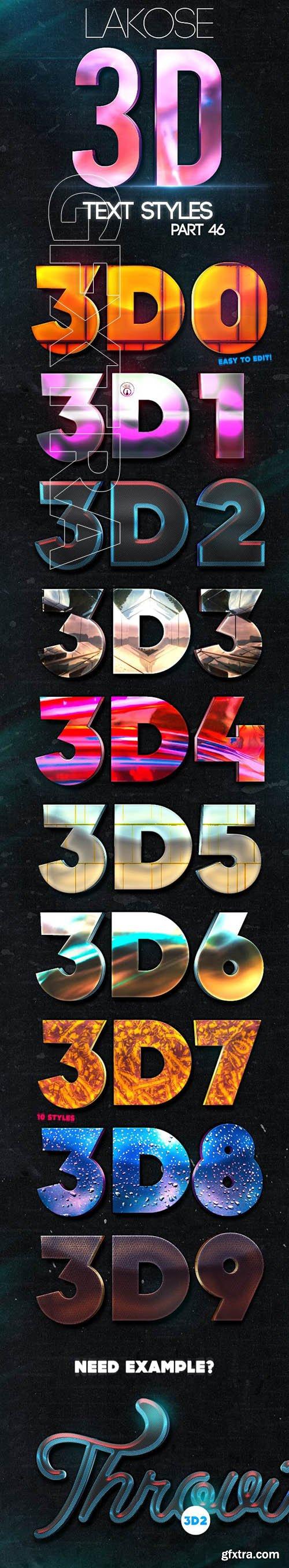 GraphicRiver - Lakose 3D Text Styles Part 46 23661741
