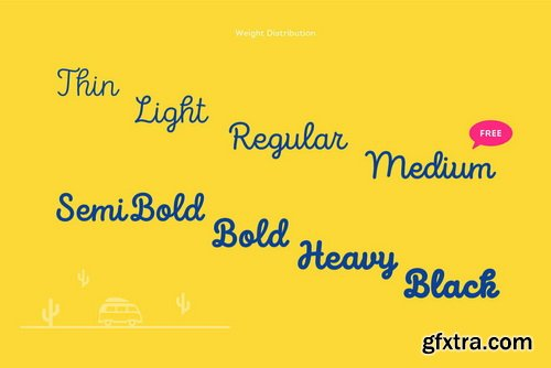 Intro Script Font Family
