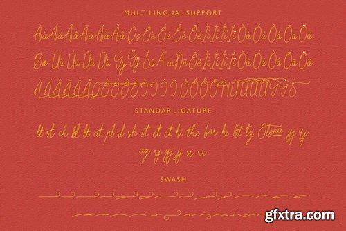 Elena Script Font Family