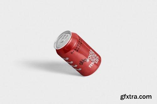 Tin Soda Can Mockups