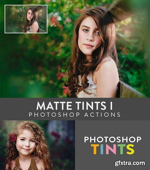 TINTS: Matte Tints I Photoshop Actions