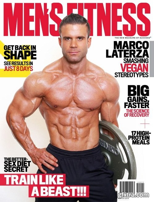 Men\'s Fitness South Africa - Winter 2019