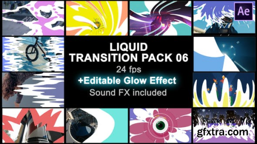 VideoHive Liquid Transitions Pack 06 23503283