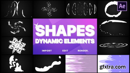 VideoHive Dynamic Shapes Pack | After Effects 23713375