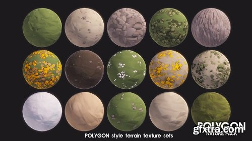 POLYGON - Nature Pack 1.06 Unity Asset