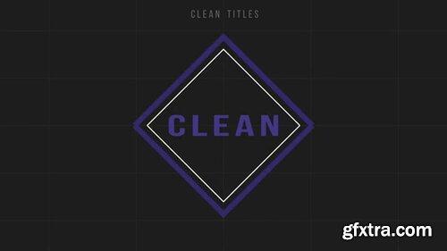 Pond5 - Clean Titles - 092796898