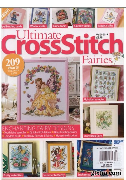Ultimate Cross Stitch - Fairies Vol.20 2019
