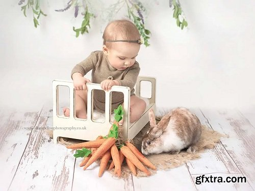 The Bunny Hop Collection Actions, Brush & Overlays