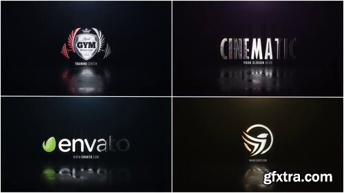 Videohive - Cinematic Hero Logo - 22635106
