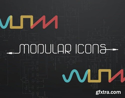 Native Instruments MODULAR ICONS KONTAKT-AwZ