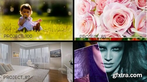 Pond5 - 4 Stylish Slideshows In One File - 093843181