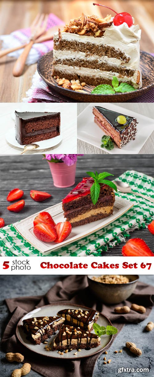 Photos - Chocolate Cakes Set 67
