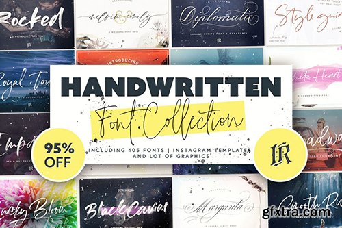 DealJumbo Handwritten Font Collection