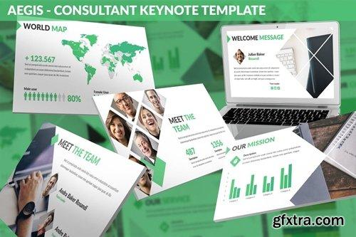 Aegis - Consultant Keynote Template