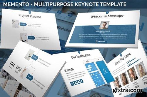 Memento - Multipurpose Keynote Template