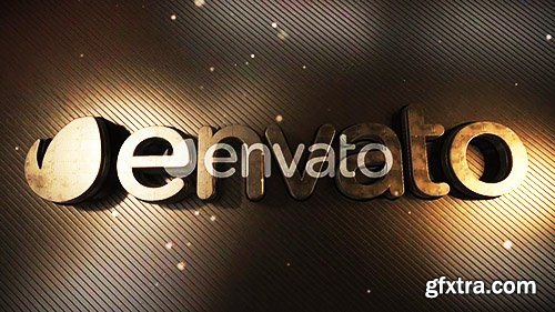 Videohive LED Gold Title 23372526