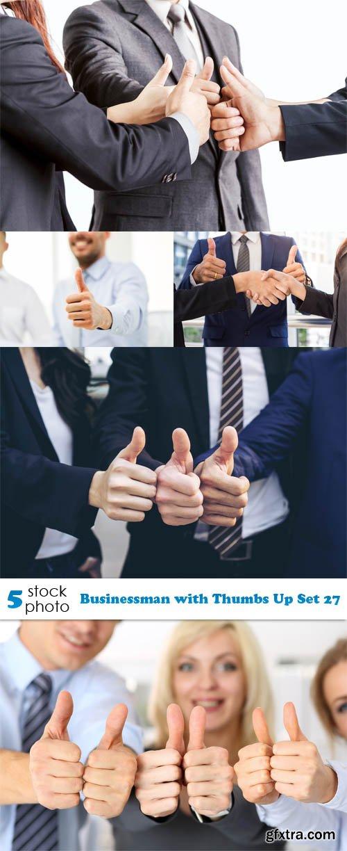 Photos - Businessman with Thumbs Up Set 27