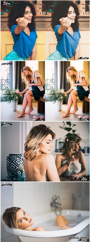 Indoor Portrait Color Grading Ps Actions 1319884