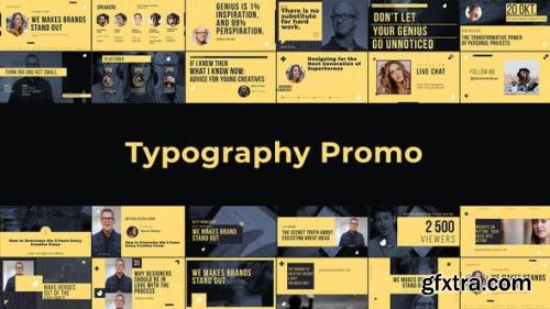 Videohive Typography Promo 22855213