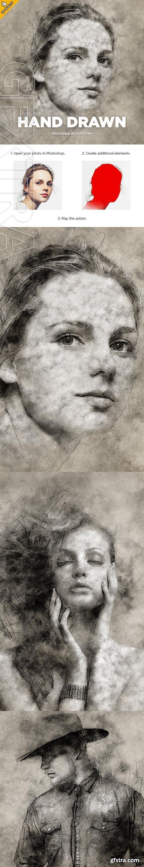 GraphicRiver - Hand Drawn CS4+ Photoshop Action 23505420