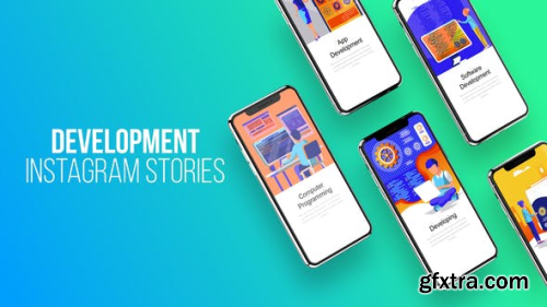 Videohive Web Development - Instagram Stories 23797905