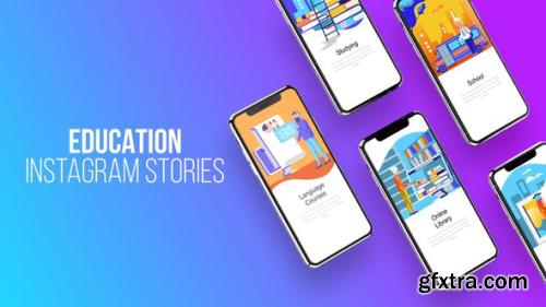 Videohive Education - Instagram Stories 23797911