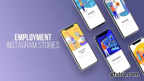 Videohive Employment - Instagram Stories 23797915