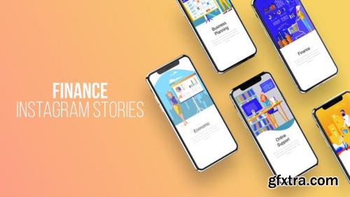 Videohive Finance - Instagram Stories 23797924