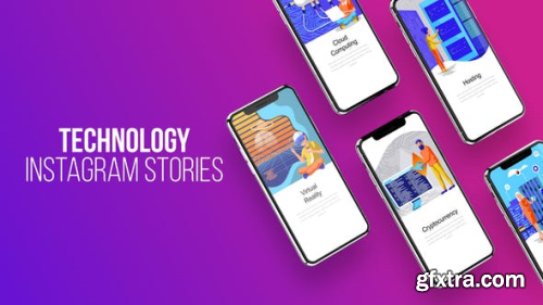 Videohive Technology - Instagram Stories 23798115
