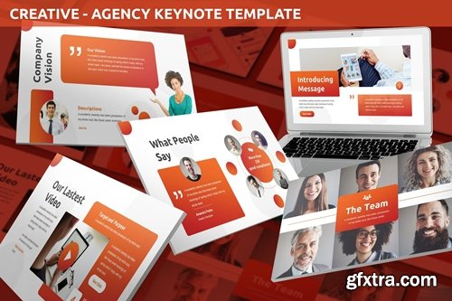 Creative - Agency Keynote Template