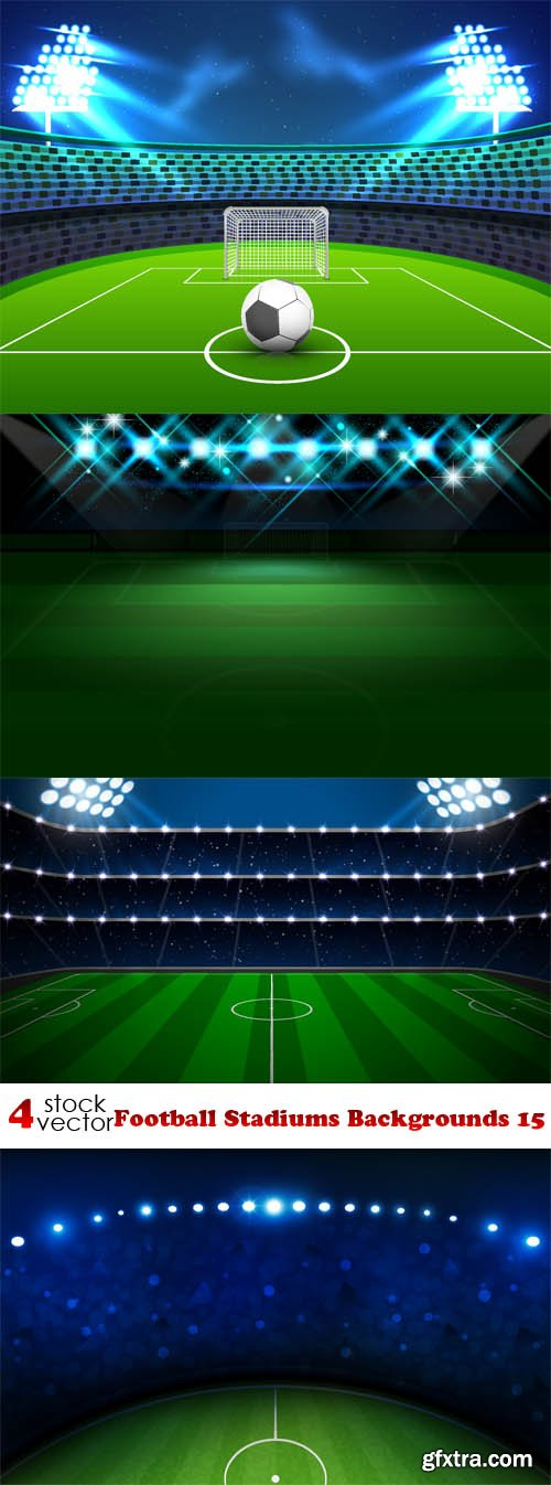 Vectors - Football Stadiums Backgrounds 15