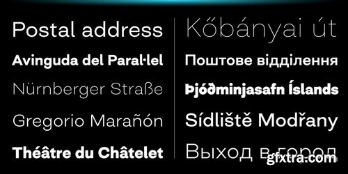 Closer Font Family