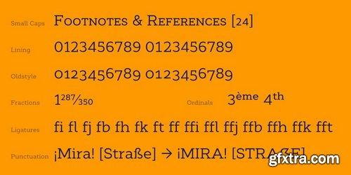 Cyntho Next Slab Font Family