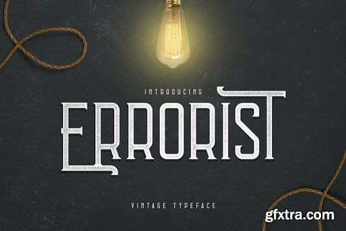 Errorist Font Family