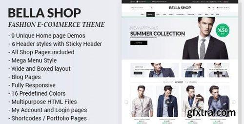 ThemeForest - Bella v1.4 - eCommerce HTML Shop with RTL 10159832